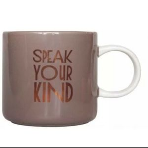 Starbucks Speak Your Kind 2017 Limited Edition Cup